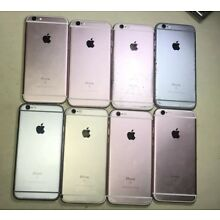 Lot of 8 Apple iPhones (6s) AS IS FOR PARTS