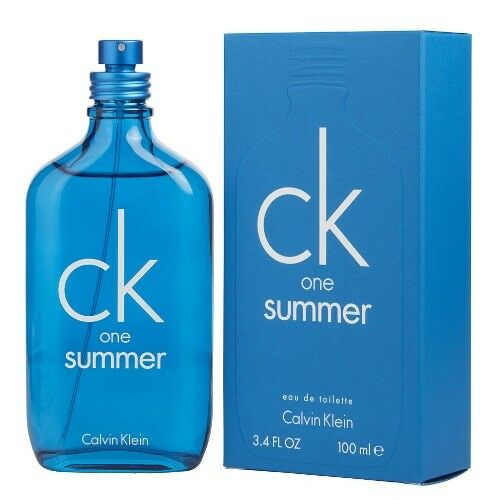 9ee43a0e0 Details about Ck One Summer 2018 by Calvin Klein 3.4 oz Unisex Perfume  Cologne New In Box