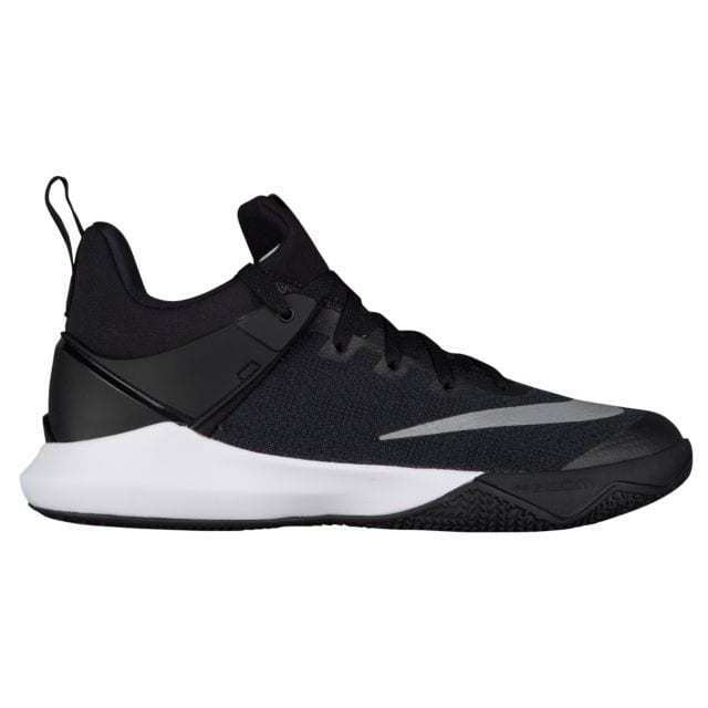 c44de520a135 Details about Mens Nike Zoom Shift TB Basketball Shoes Black White Silver  Grey Gray 897811 001