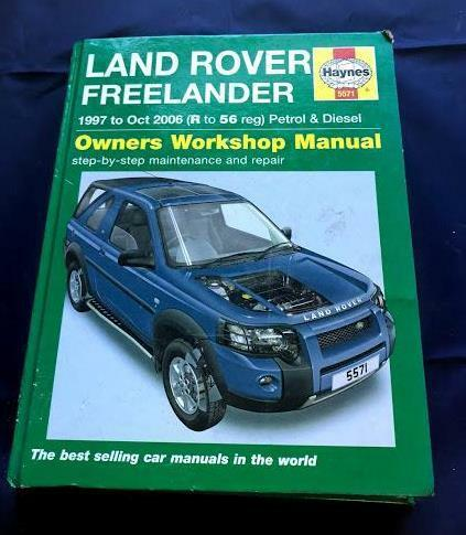 land rover1997 freelander repair manual