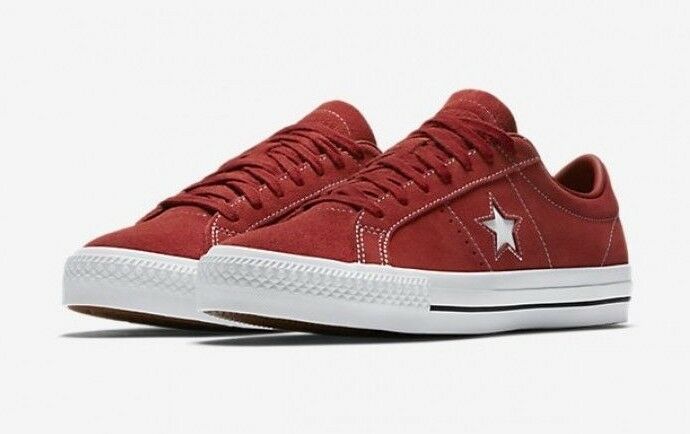 Details about Converse One Star Pro Suede Red Copper Low Top Skateboarding  Sneaker 157873C a3441543b