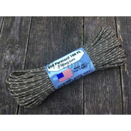 img-550 PARACORD 100ft 7 STRAND MULTICAM CAMO MTP - Army Cord Bushcraft Survival Kit