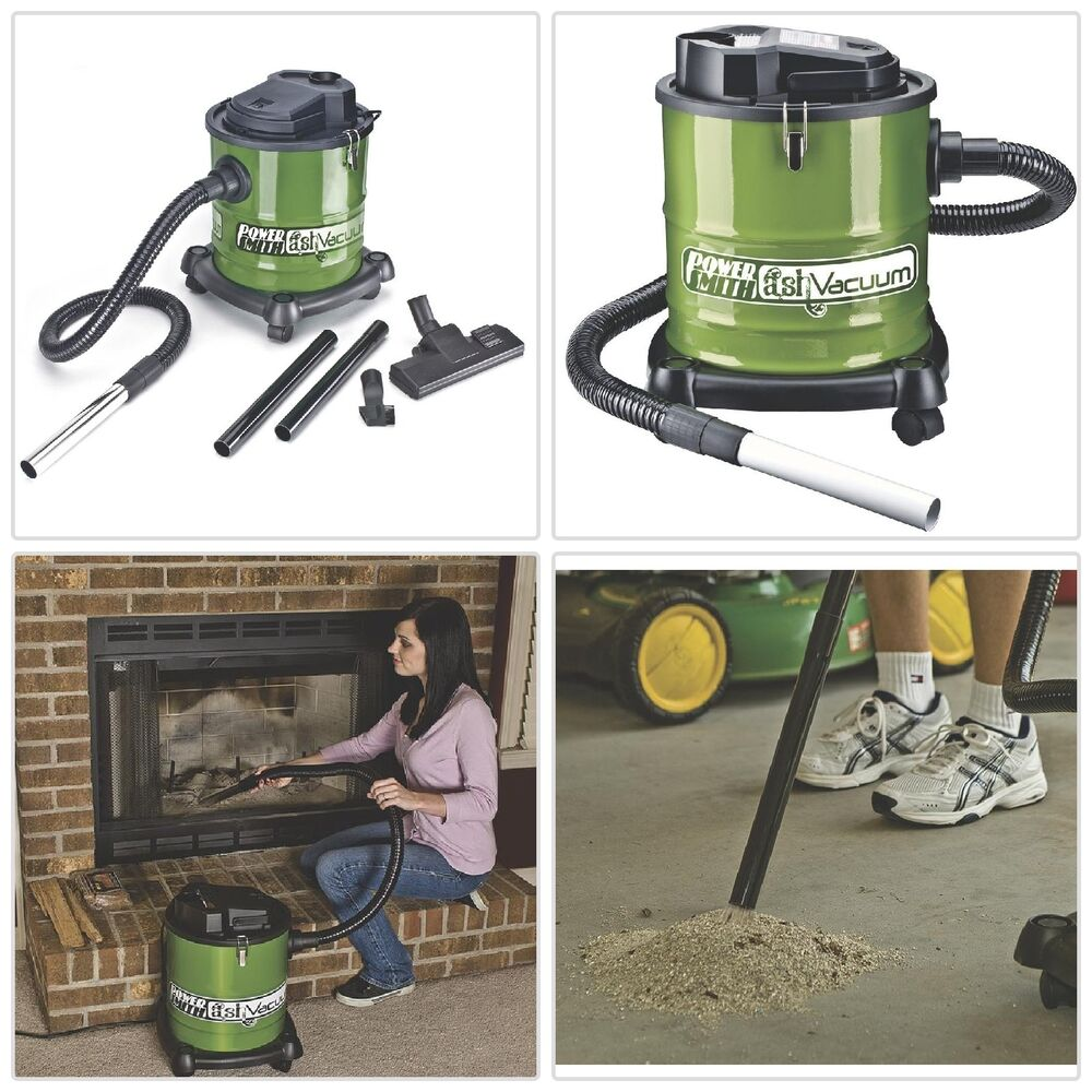 Ash Vacuum Fireplace Vac Cleans Warm Cool Wood Ashes