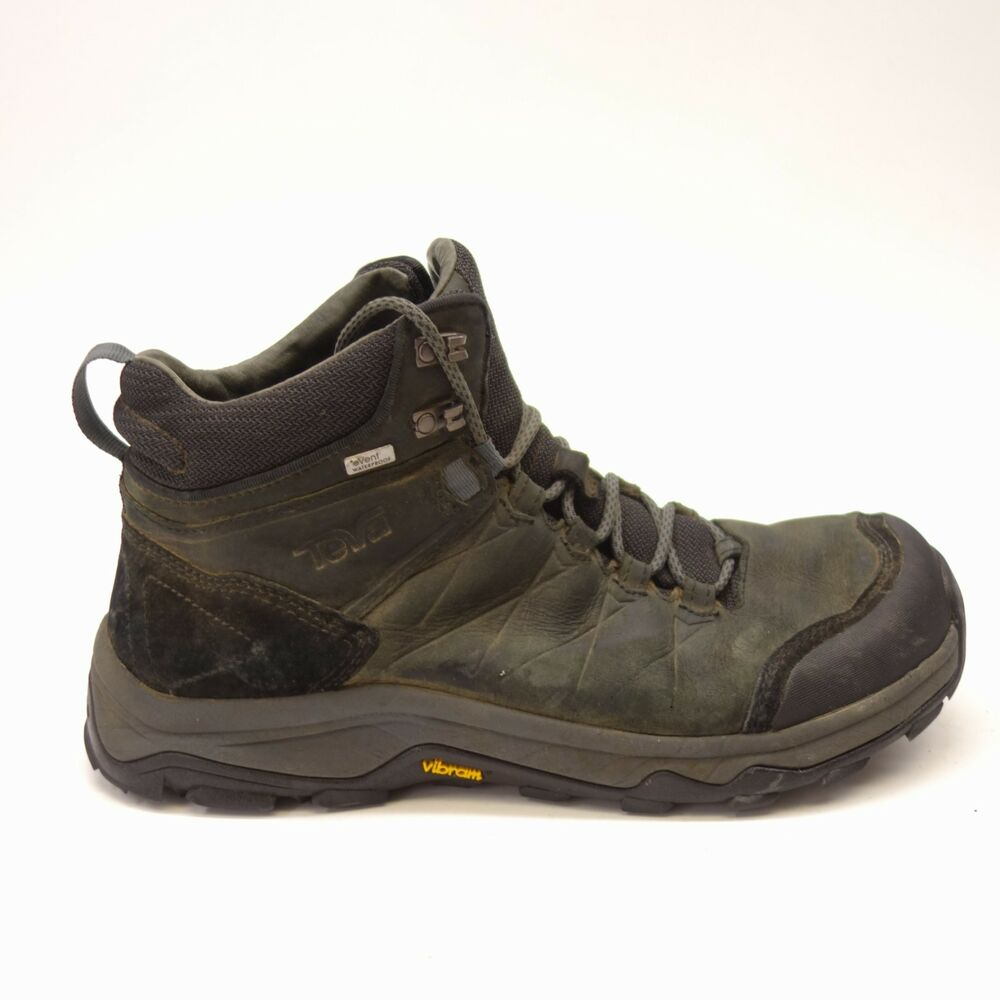a43fd1b2b Details about Teva Mens Arrowood Riva Gray Event Mid Waterproof Hiking  Trail Shoes Size 9.5