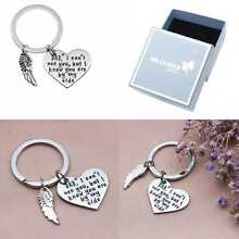 Personalised Memorial Charm, Memorial Rememberance Keychain (dad)