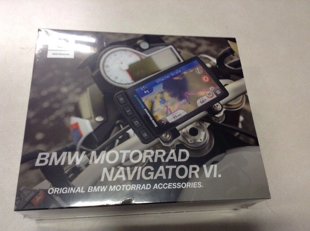 bmw motorrad navigator vi gps with cradle nav 6 ebay. Black Bedroom Furniture Sets. Home Design Ideas