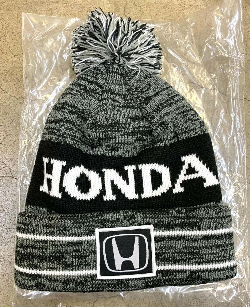 Details about Genuine OEM Honda Lifestyle Collection Ball Top Knit Beanie  Hat   Knit Cap 3590a20c9c1