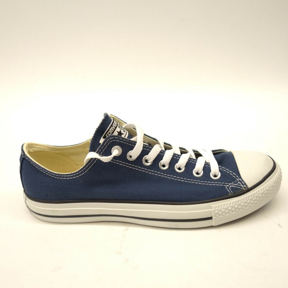 e0dd026cf915 Details about New Converse Mens Dark Navy Blue Chuck Taylor All Star Low Canvas  Shoes Size 9