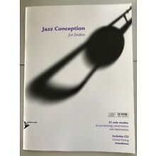 JAZZ CONCEPTION FOR TROMBONE **BRAND NEW** Jim Snidero  Includes CD