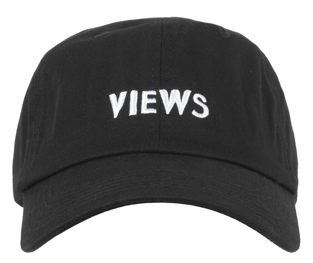 d8d48d46a7b Details about ANY MEMES DRAKE VIEWS DAD HAT STRAPBACK CURVED BILL CAP BLACK  UNISEX