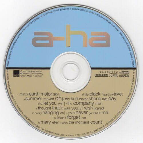 aha-minor-earth-major-sky-2000-cd-nice-cond-wcasebooklet-tracks-verified