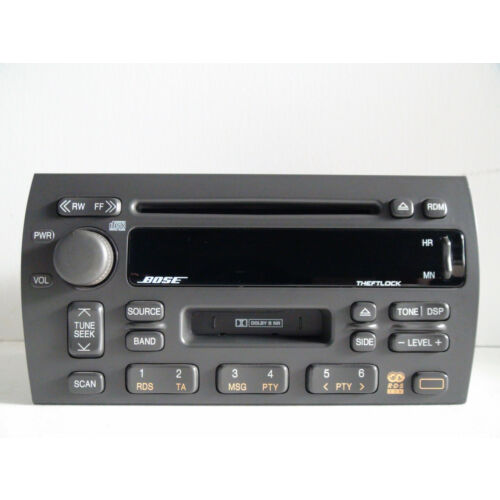 cadillac-deville-seville-eldorado-98up-cd-cassette-player-combo-bose-sound