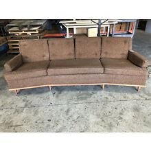 Mid Century Modern Couch Sofa Pristine Condition Vintage Tweed
