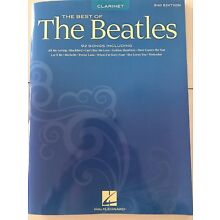 The Best of the Beatles: Clarinet 2nd Edition-92 Songs. Free Shipping