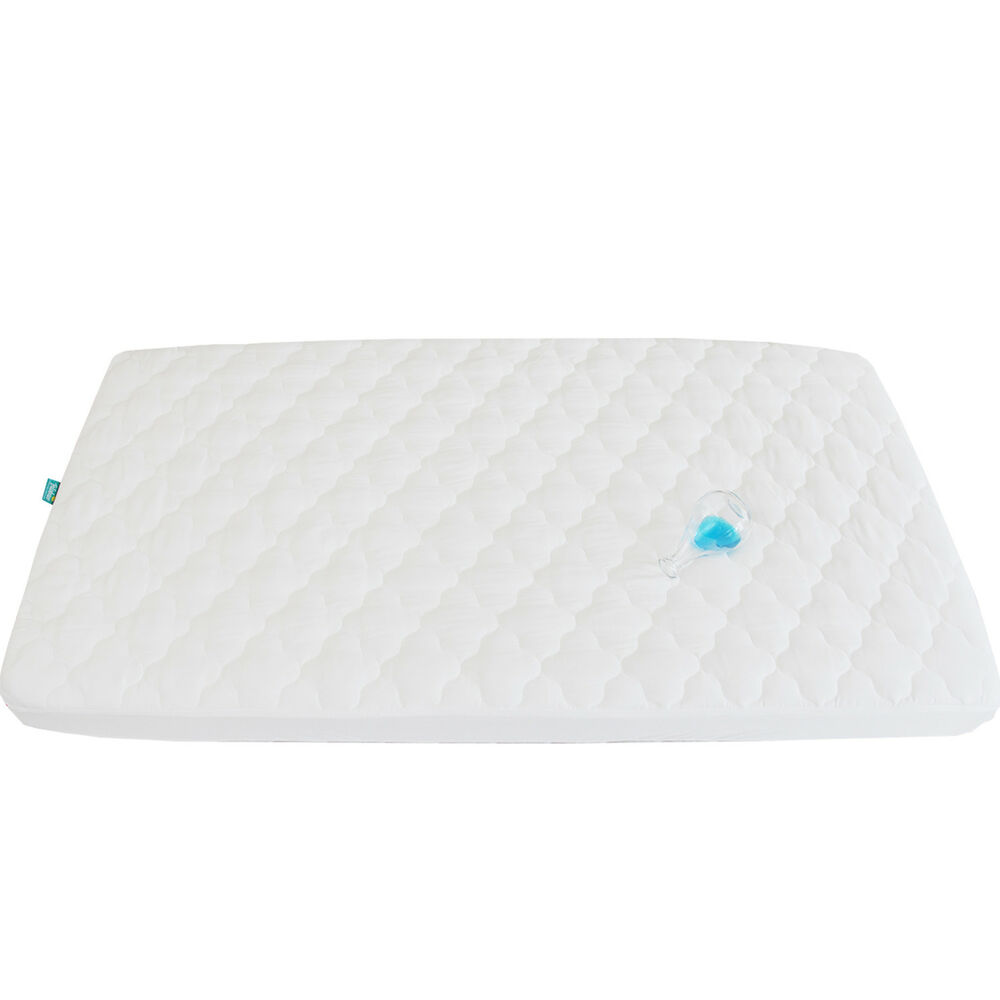 biloban pack n play waterproof baby crib mattress pad cover, soft 39