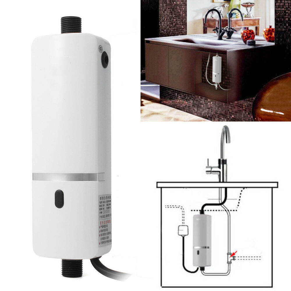 Mini Instant Electric Tankless Water Heater Shower System