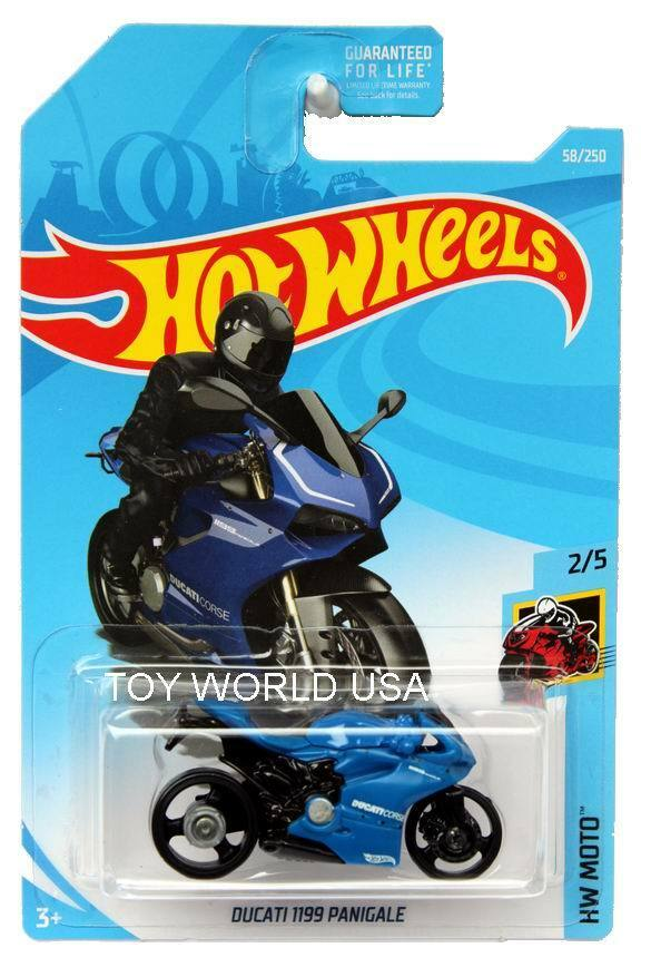 2019 hot wheels 58 hw moto ducati 1199 panigale ebay. Black Bedroom Furniture Sets. Home Design Ideas