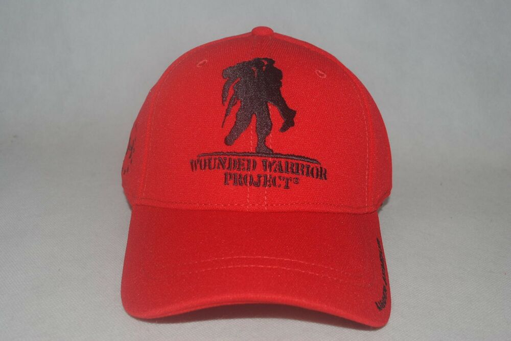 Details about Under Armour Men s Red UA Wounded Warrior Project WWP   1251960 Snapback Cap OSFA 60770d26d2d9