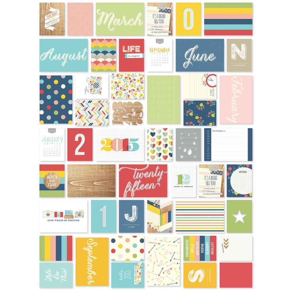 """4 Designs//2ea Simple Stories Reset Girl Stickers 4/""""X6/"""" Icons"""