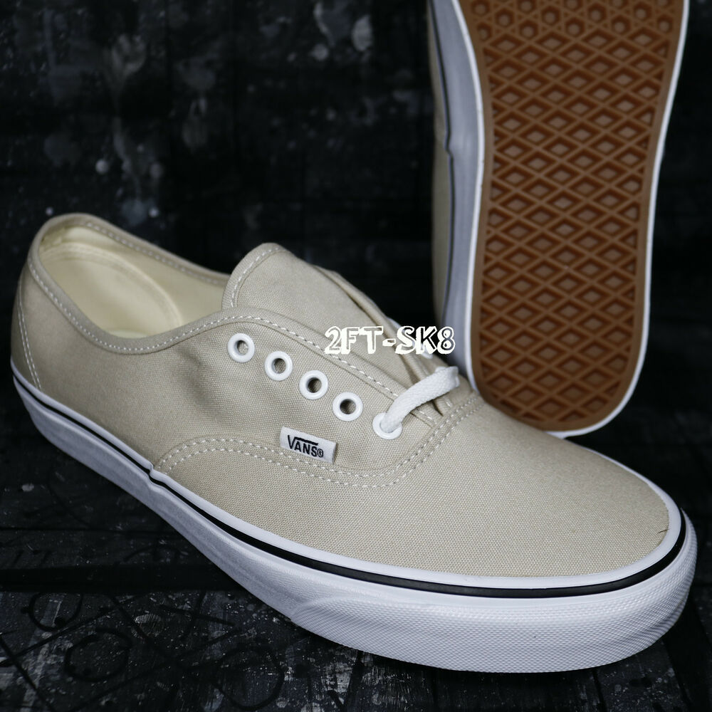 1ffda5f82ec Details about VANS AUTHENTIC SILVER LINING TRUE WHITE MEN S SKATE SHOES   S91121.211