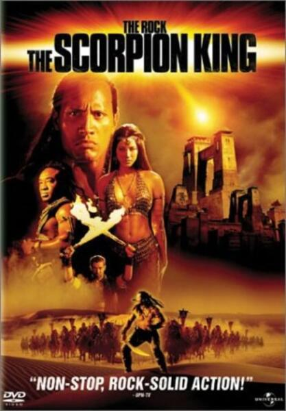 The Scorpion King (DVD, 2002, Widescreen Collector's Edition) NEW