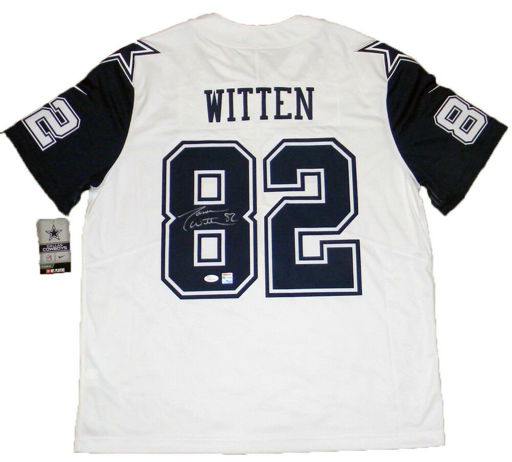 8c03b2307 Details about JASON WITTEN AUTOGRAPHED DALLAS COWBOYS  82 NIKE LIMITED  COLOR RUSH JERSEY JSA