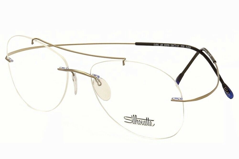 7ae3fc344c5be Details about Silhouette Eyeglasses Titan Minimal Art Pulse Chassis 5490  6070 Optical Frame