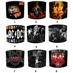 AC DC Highway To Hell LampshadesWall Decals Stickers Ceiling Light Table Lamp