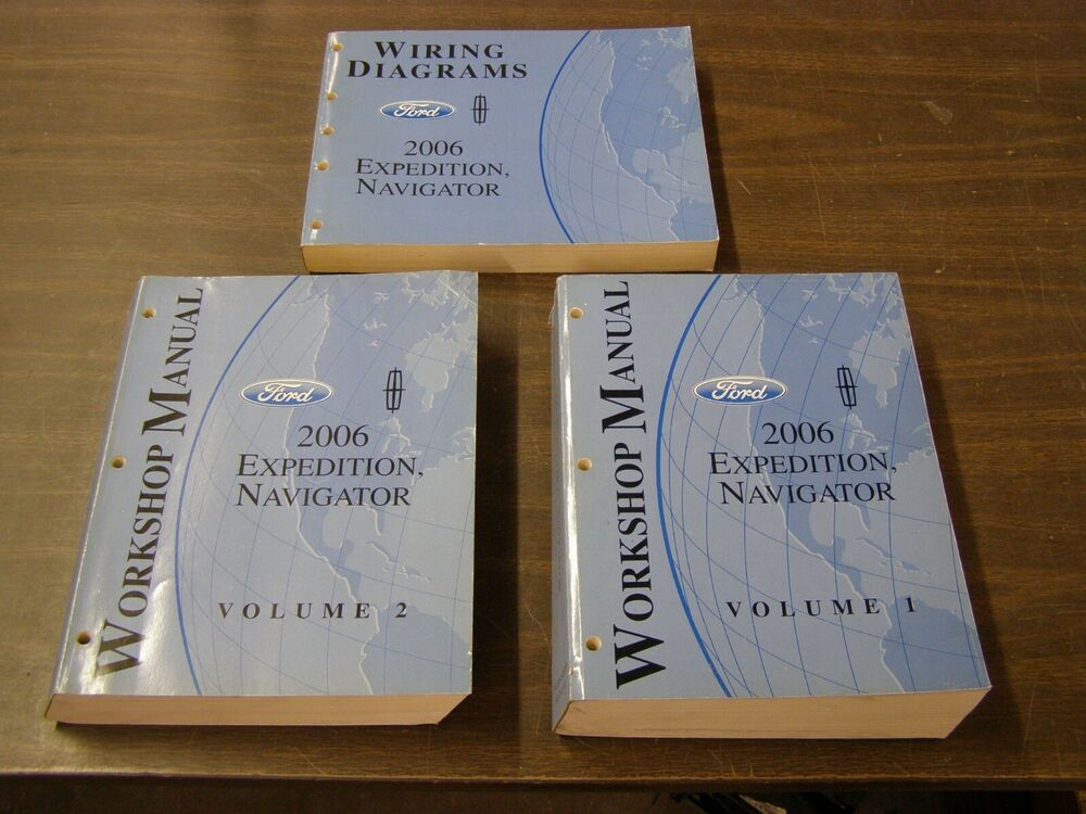 Oem Ford 2006 Lincoln Navigator   Expedition Shop Manual