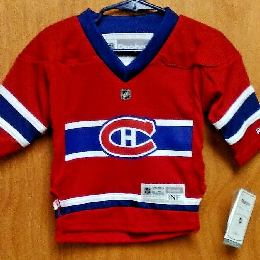 buy online 20ae9 65db6 CANADIENS SUBBAN JERSEY BOYS 12/24 MONTHS YOUTH BRAND NEW | eBay
