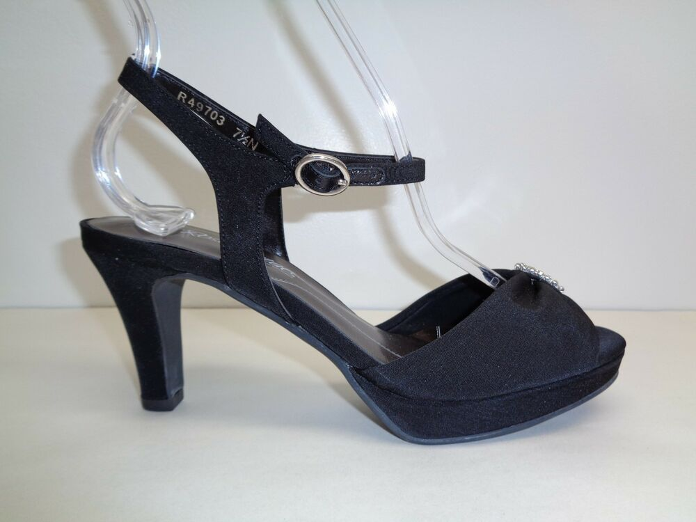 62cb99a1e16f Details about Walking Cradles Size 7.5 N Narrow PLAZA Black Micro Sandals  New Womens Shoes