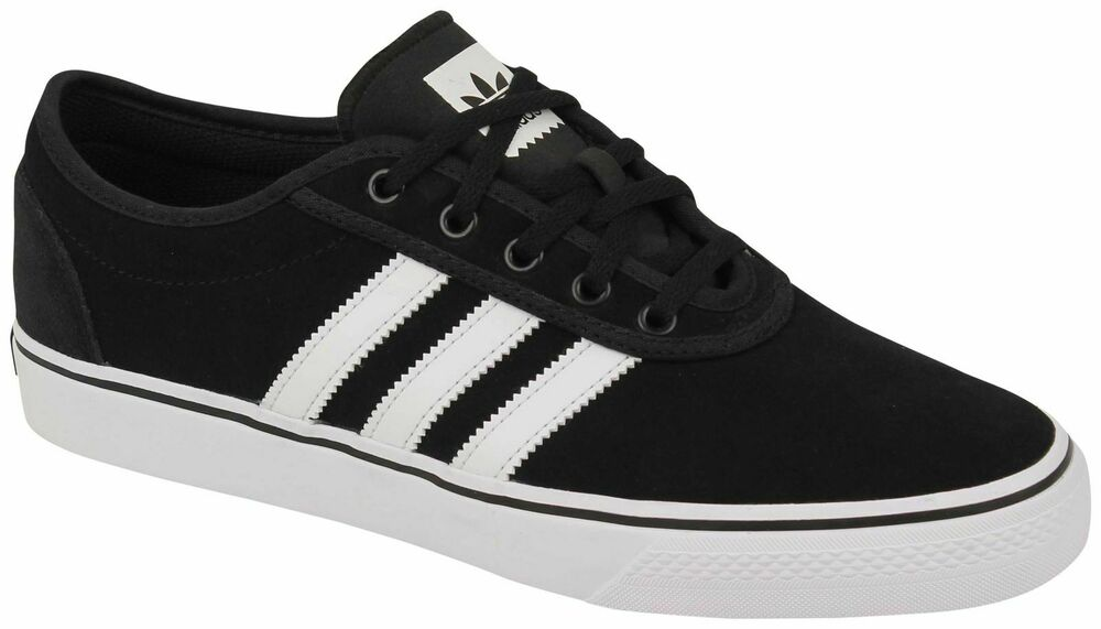 5ba69e38d39bf Details about NIB MEN S ADIDAS ORIGINALS BY4028 ADI EASE SHOES BLACK WHITE  SELECT SIZE. Popular Item 1 watched in ...