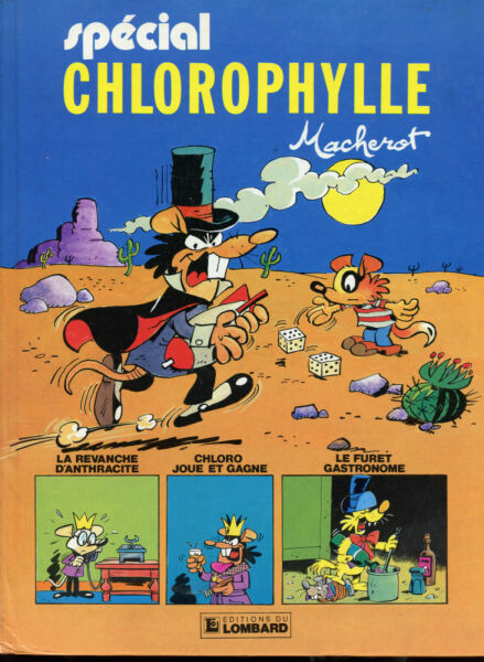 MACHEROT: SPECIAL CHLOROPHYLLE (3 TITRES). LOMBARD 1984.
