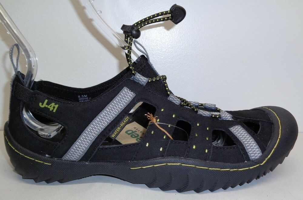 cbb7b66bc4af7a Details about J-41 Jeep Size 8 M GROOVE II Black Kiwi Sport Sandals New  Mens Water Shoes