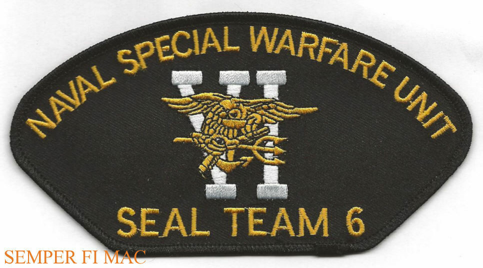 8d5f6ccbc1e Details about SEAL TEAM 6 TRIDENT PATCH US NAVY BIN LADEN 911 USS PIN UP HAT  UDT GIFT WOW