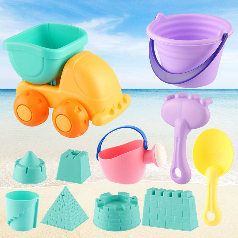 Confident Beach Sand Outdoor Toys For Children Beach Toys Set With Bucket Shovel For Kids Making Things Convenient For Customers Beach/sand Toys