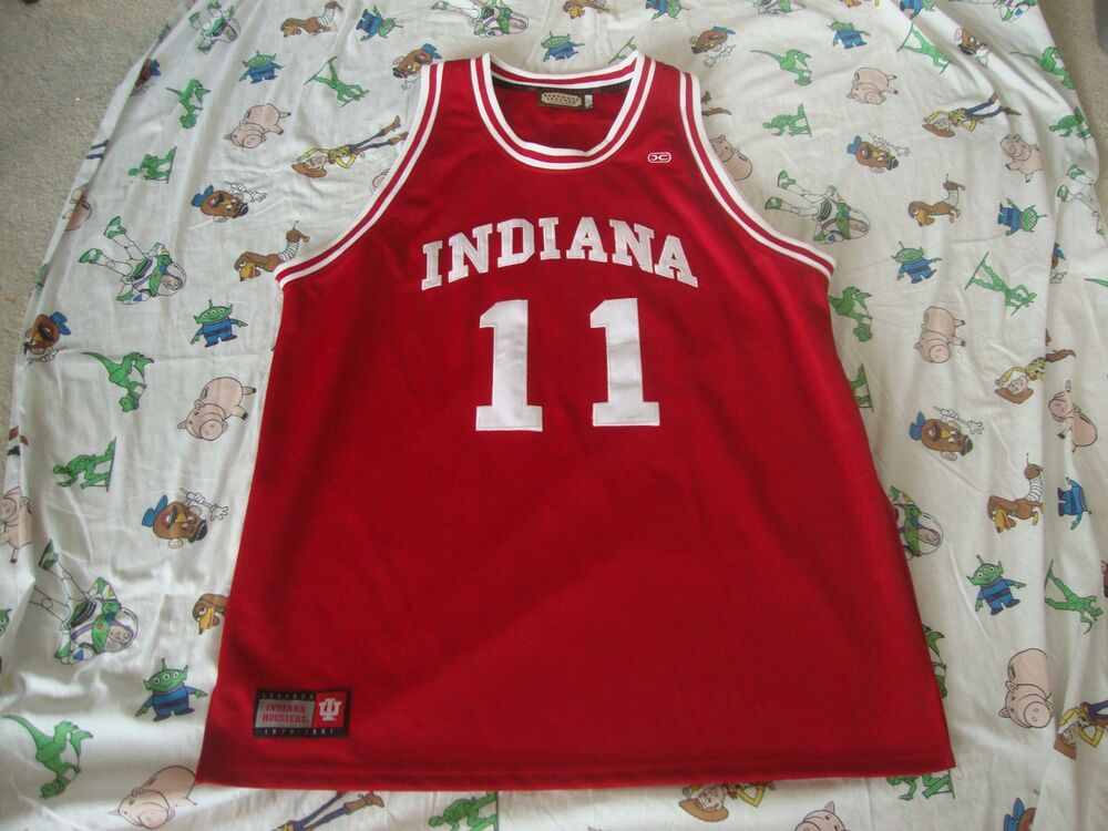 size 40 bf1ac d49b5 ISIAH THOMAS Indiana Hoosiers Basketball Throwback Sewn ...