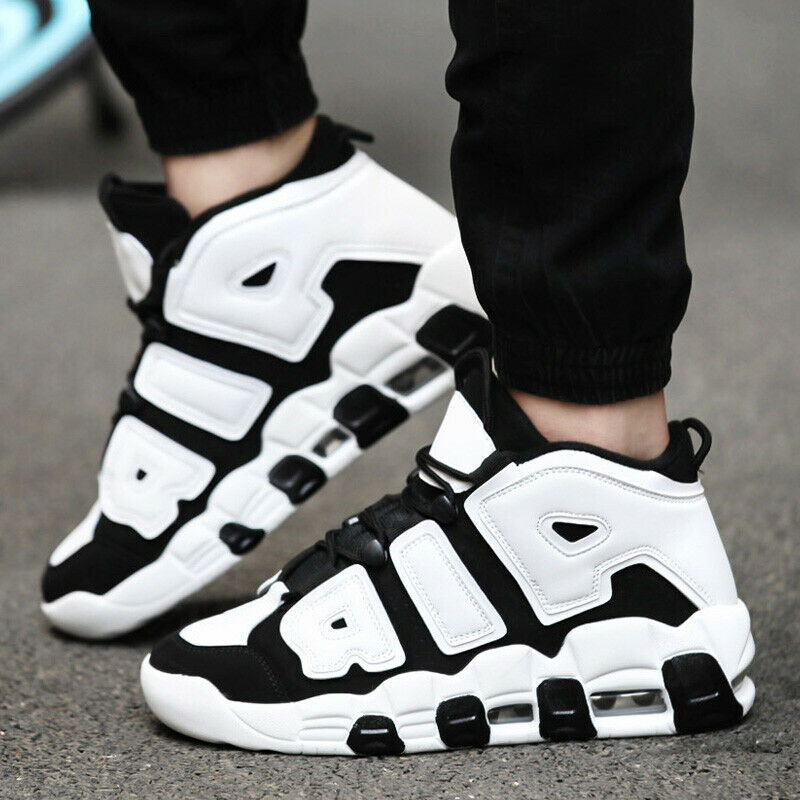 4e927e7ba1e54b Details about Men s Air Cushion Basketball Shoes Boots High Top Sports  Sneakers Breathable Gym