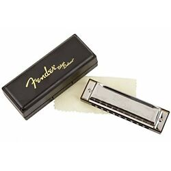 Kyпить Fender Blues Deluxe 10-Hole Harmonica in the Key of C with Case на еВаy.соm