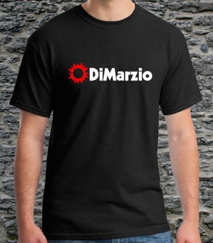 Black T-Shirts DiMarzio Guitars Accessories gift t shirts for men size S-3XL Tee