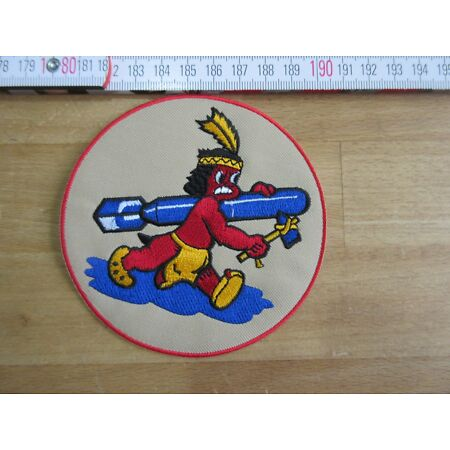 img-Bomb Squadron 8th Aaf Indian Infantry Patch Airforce Pilots A2 Jacket US Army