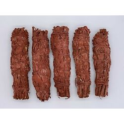 Kyпить 5X Dragons Blood Sage Smudge Sticks / Wands - Protection, Negativity Removal на еВаy.соm