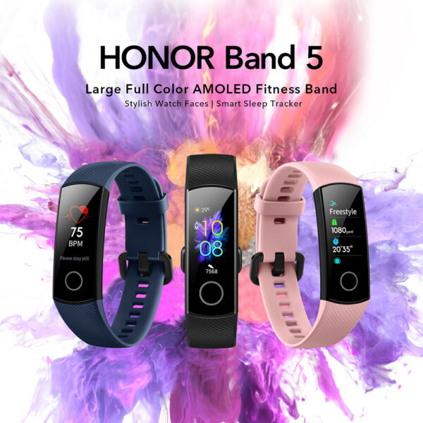 Nuovo HUAWEI Honor Band 5 Smart Bracelet 0.95
