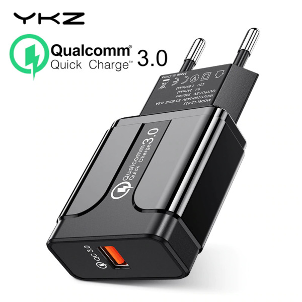 Quick Charge 3.0 18W Qualcomm QC 3.0 4.0 Fast charger USB  portable Charging