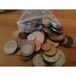 Kyпить Bulk Lot of 100 Assorted World Foreign Coins- Nice Assorted Mix! на еВаy.соm