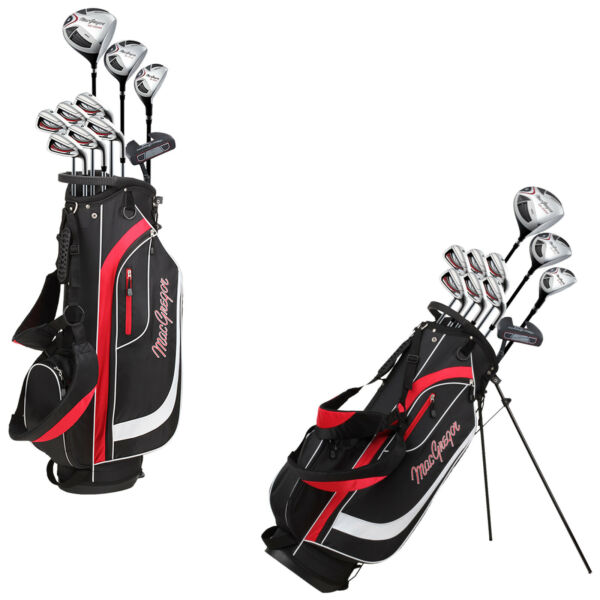 2019 MacGregor Mens CG2000 Complete Package Full Set Golf Clubs Bag Right Handed