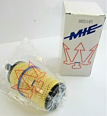 Maserati New Quattroporte Ghibl Levante 3.0L Oil Filter Cartridge Insert 311401