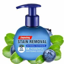 Kyпить Intensive Stain Removal Teeth Whitening Toothpaste Fight Bleeding Gums Blueberry на еВаy.соm