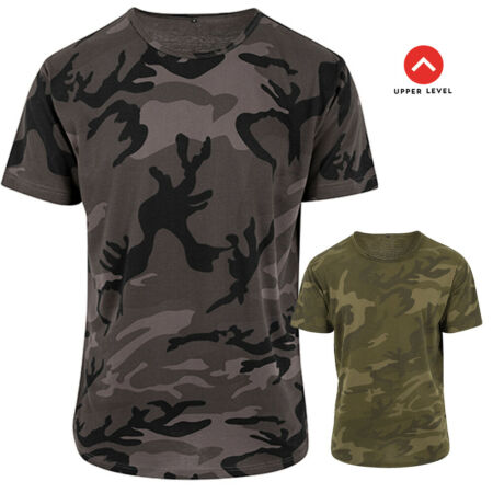 img-Upper Level Camo T-Shirt Oversized Camouflage Army Bundeswehr Camo Military Army