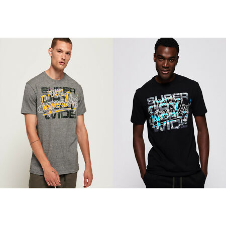 img-Superdry Ticket Type Camo Infill T-shirt